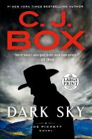 Cover image for Dark sky. bk. 21 a Joe Pickett series