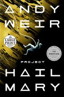Cover image for Project Hail Mary a novel