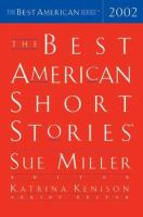 Cover image for The best American short stories, 2002