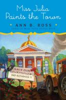 Cover image for Miss Julia paints the town. bk. 9 : Miss Julia series