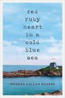 Cover image for Red ruby heart in a cold blue sea