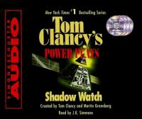 Cover image for Shadow watch Tom Clancy's power plays series