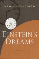 Cover image for Einstein's dreams