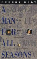Cover image for A man for all seasons : a play in two acts