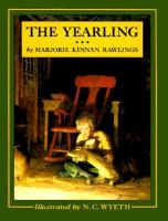 Cover image for The yearling [large print]