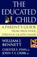 Cover image for The educated child : a parent's guide