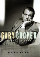 Cover image for Gary Cooper : American hero