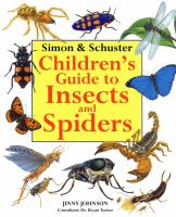 Cover image for Simon & Schuster children's guide to insects and spiders