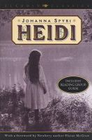Cover image for Heidi Aladdin Classics series