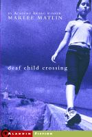 Cover image for Deaf child crossing