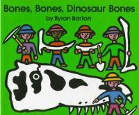Cover image for Bones, bones, dinosaur bones