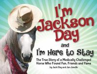 Cover image for I'm Jackson Day and I'm here to stay
