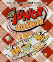 Cover image for New junior cook book