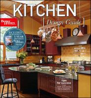 Cover image for Kitchen design guide