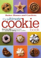 Cover image for The ultimate cookie book