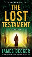 Cover image for The lost testament
