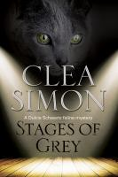 Cover image for Stages of grey. bk. 8 Dulcie Schwartz feline mystery series