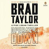 Cover image for Operator down. bk. 12 [sound recording CD] : Pike Logan series
