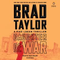 Imagen de portada para Daughter of war. bk. 13 [sound recording CD] : Pike Logan series