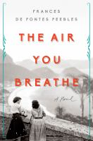 Cover image for The air you breathe