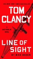 Cover image for Tom clancy line of sight Jack Ryan Jr. Series, Book 4.