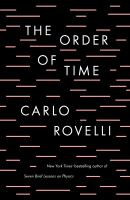 Cover image for The order of time