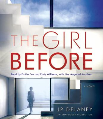 Cover image for The girl before [sound recording CD] : a novel