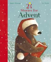 Cover image for 24 stories for advent
