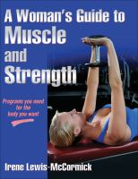 Cover image for A woman's guide to muscle and strength