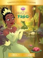 Cover image for The princess and the frog : a read-aloud storybook