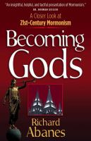 Cover image for Becoming gods