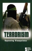 Cover image for Terrorism : opposing viewpoints