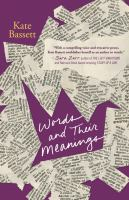 Cover image for Words and their meanings