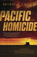 Cover image for Pacific homicide Detective Davie Richards Series, Book 1.