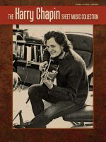 Cover image for The Harry Chapin sheet music collection : piano, vocal, chords.