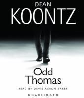 Cover image for Odd Thomas. bk. 1