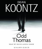 Cover image for Odd Thomas. bk. 1