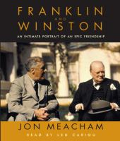 Cover image for Franklin and Winston [an intimate portrait of an epic friendship]