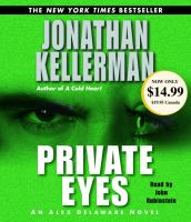 Cover image for Private eyes. bk. 6 Alex Delaware series