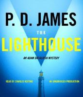 Cover image for The lighthouse. bk. 13 Adam Dalgliesh series