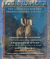 Cover image for The collected Bowdrie dramatizations. Vol. 3