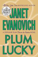 Cover image for Plum lucky [large print]