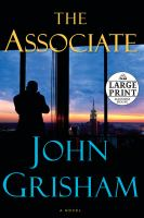 Cover image for The associate [large print]