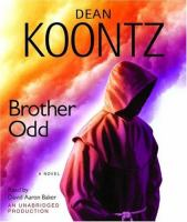 Cover image for Brother Odd. bk. 3 Odd Thomas series : a novel