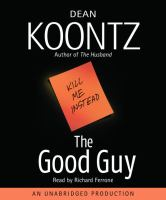 Cover image for The good guy [sound recording CD]