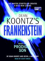 Cover image for Dean Koontz's Frankenstein. bk. 1 : Prodigal son