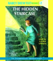 Cover image for The hidden staircase Nancy Drew Mystery Series, Book 2.