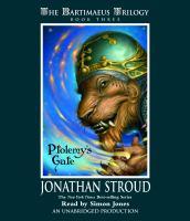 Imagen de portada para Ptolemy's gate
