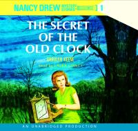 Cover image for The secret of the old clock Nancy Drew Mystery Series, Book 1.