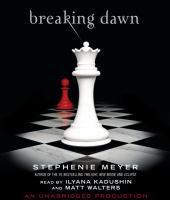 Cover image for Breaking dawn. bk. 4 Twilight saga